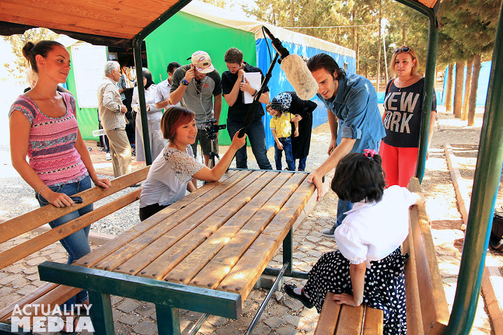 Two days filming in Kilis with the IBC crew - at an IBC Child Friendly Space with Syrian refugee children.