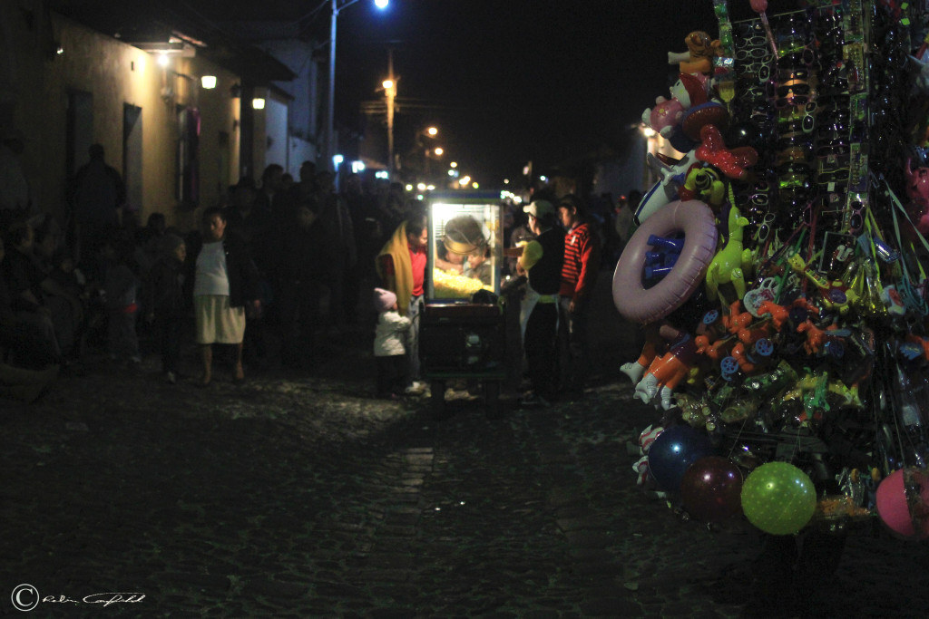 Celebrations of Semana Santa. Antigua, Guatemala.